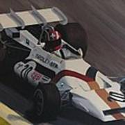 Siffert At Speed Poster