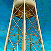 Sikeston Water Tower Iv Poster