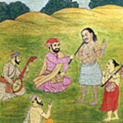 Sikh Painting Poster