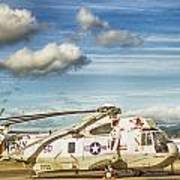 Sikorsky Sh-60b Seahawk Helicopter Poster