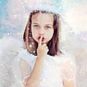 Silent Angel Poster by Stephanie Frey