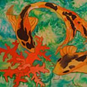 Silk Koi Poster