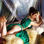 Silken Beauty Poster by Waywardimages Waywardimages