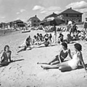 Silver Beach On Cape Cod Poster