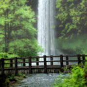 Silver Lake Falls Poster