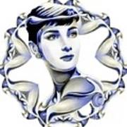 Silverscreenstar Audrey Hepburn Poster