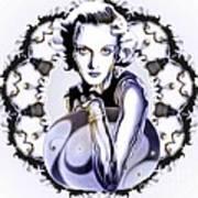 Silverscreenstar Carole Lombard Poster by Wu Wei