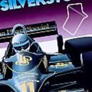 Silverstone Poster