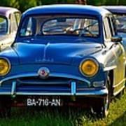 Simca Aronde 1960s car Poster
