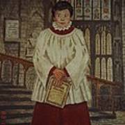 Simon - Winchester Cathedral Choral Scholar Poster