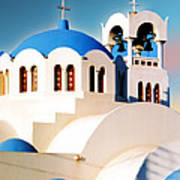 Simple Graphic Greek Church Poster