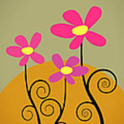 Simply Flowers Poster