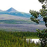 Simpson Peak At Swan Lake-yt Poster