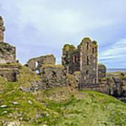 Sinclair Castle Scotland - 3 Poster