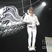 Singer Justin Bieber Poster