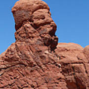Singing Rock At Arches Np Poster