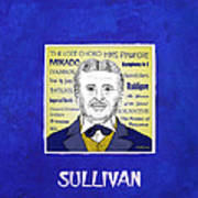 Sir Arthur Sullivan Poster