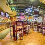 Sitting Area Inside Of A Tavern Bar Restaurant Poster