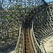 Six Flags America - Roar Roller Coaster - 12125 Poster
