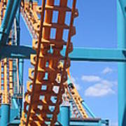 Six Flags America - Two-face Roller Coaster - 12121 Poster