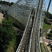 Six Flags America - Wild One Roller Coaster - 12129 Poster