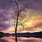 Skaha Lake On A Saturday Morning Poster