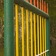 Skc 3266 Colorful Gate Poster