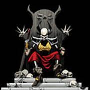 Skeletal Noble Poster