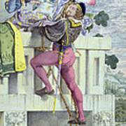 Sketch For The Passions Love Poster by Richard Dadd