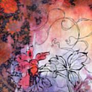 Sketchflowers - Calendula Poster