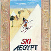 Ski Aegypt Poster by Richard Deurer