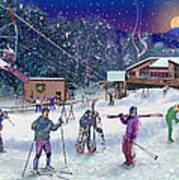 Ski Area Campton Mountain Poster