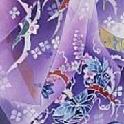 Skiyu Purple Robe Crop Poster