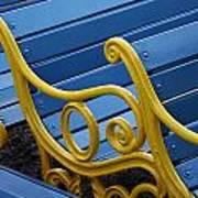 Skc 0246 Garden Benches Poster