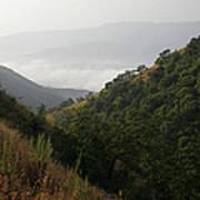 Skc 0763 Dry Green Landscape Poster