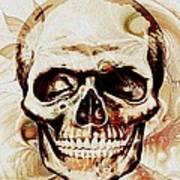 Skull Poster by Anastasiya Malakhova