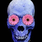 Skull Art - Day Of The Dead 1 Poster