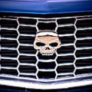Skull Grill Poster