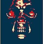 Skull In Hope Poster