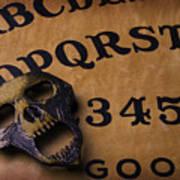 Skull Planchette Poster