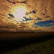 Farmland Sky Poster