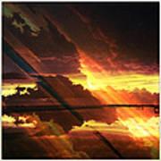 Sky Fire Siesta Key II Poster