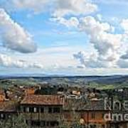 Sky Over Tuscany Poster