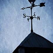 Skyfall Deer Weathervane  Poster