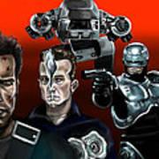 Skynet Vs Ocp Poster