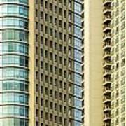 Skyscraper Closeup Poster