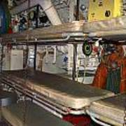 Sleeping Area Russian Submarine Poster