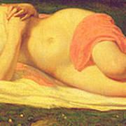 Sleeping Nymph Poster