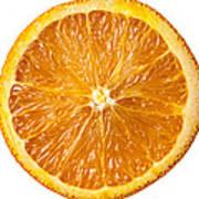 Sliced Orange Poster