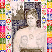Slovak Grandmother Poster by Diana Perfect